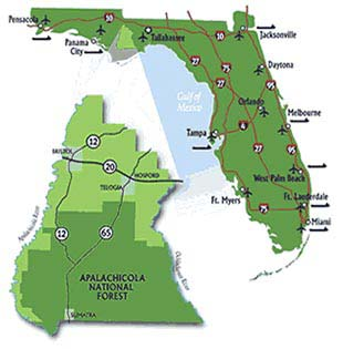 liberty county florida map