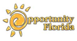 Opportunity Florida Logo which links to their website.